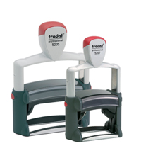 Trodate self inking stamps